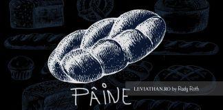 Pâine tradițională model desen