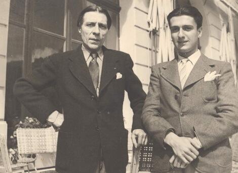 Dinu Lipatti și Alfred Cortot