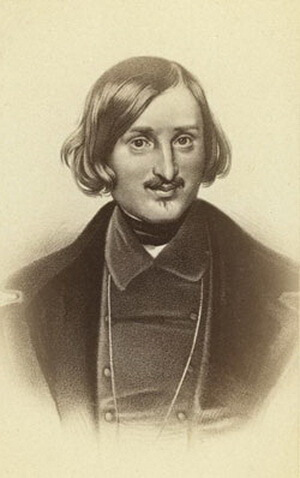 Gogol la Kiev portret de F. Miller