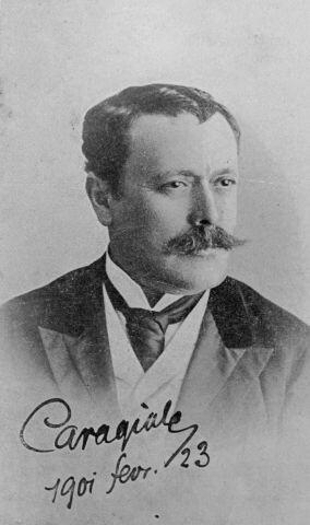 caragiale cu semnatura 1901