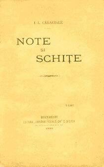 note si schite Editura Librariei Scoalelor 1892