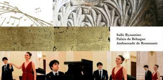 Gloria Tronel soprano Dimitri Malignan piano concert Paris