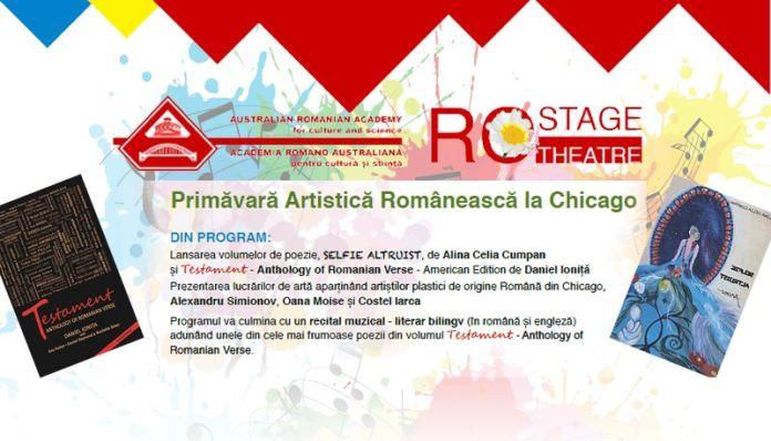 Primavara artistica romaneasca la Chicago muzica si poezie