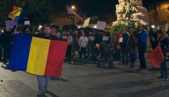 Proteste Spania OUG13-2017 Dragnea Grindeanu