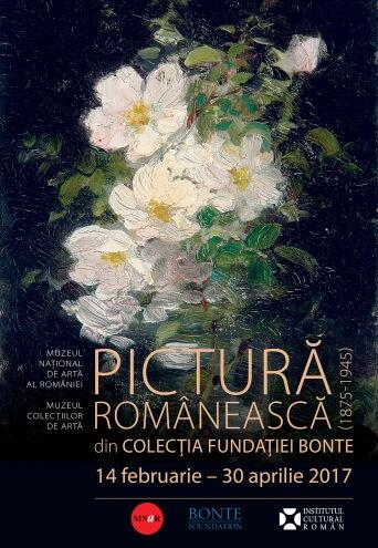 afis pictura-romaneasca fundatia bonte