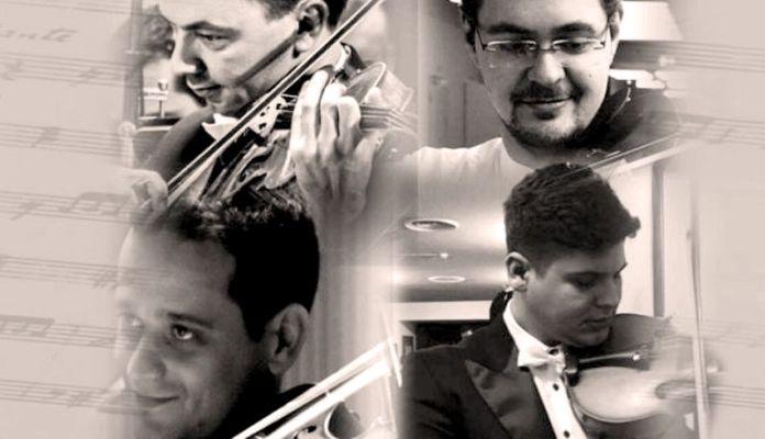 Concert I quatro alti Theodor Andreescu, Michael Carol Mihai Antal, Iulian Popovici și Sorin Spasinovici