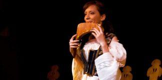 Cornelia Tihon nai ocarina fluier ocarina de lemn