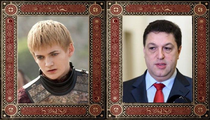Joffrey Baratheon Șerban Nicolae Game of Thrones Politicieni Romani