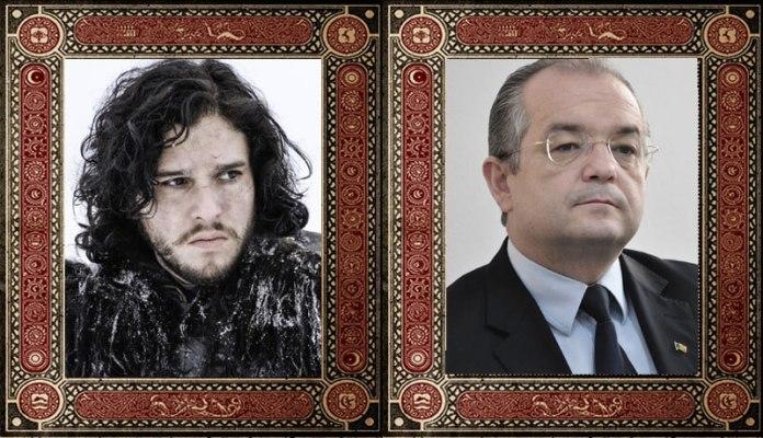 Jon Snow Emil Boc Game of Thrones Politicieni Romani