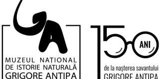 Logo_aniversar_Muzeul Antipa București