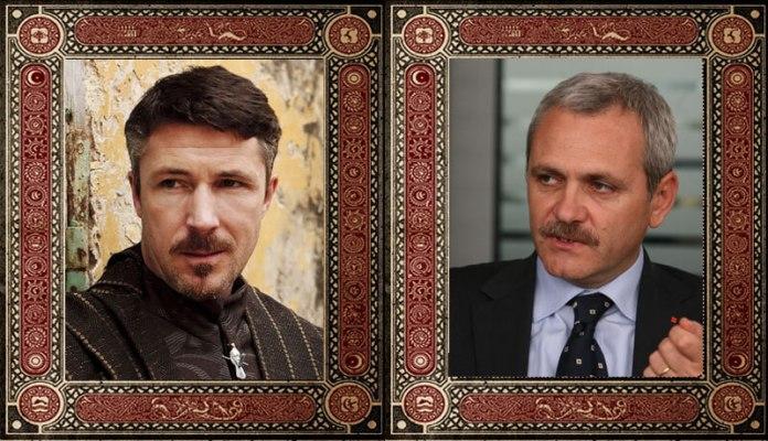 "Petyr ""Littlefinger"" Baelish Liviu Dragnea Game of Thrones Politicieni Romani"
