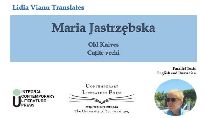 Cuțite vechi Old Knives de Maria Jastrzębska