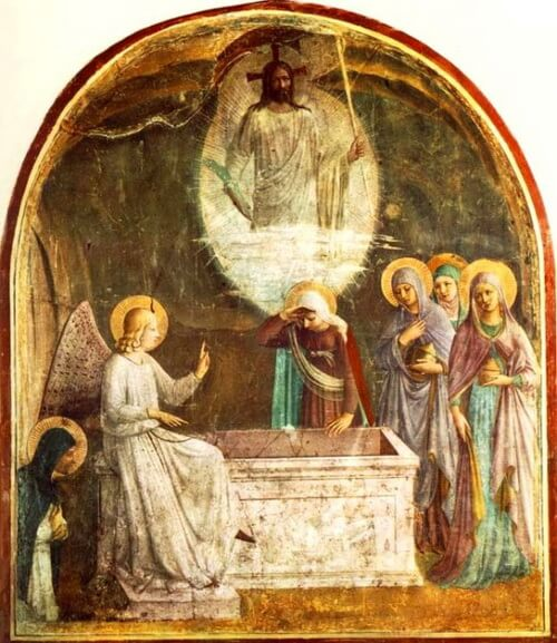 Fra Angelico Resurrection of Christan Convent San Marco Florence 1440