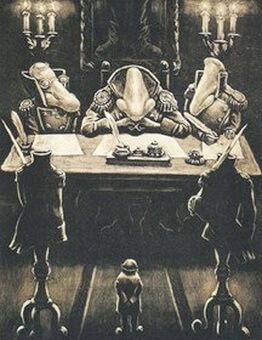 ilustratie la nasul de gogol