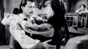 """Imagine din filmul """"La moara cu noroc"""", regia Victor Iliu, 1955"""