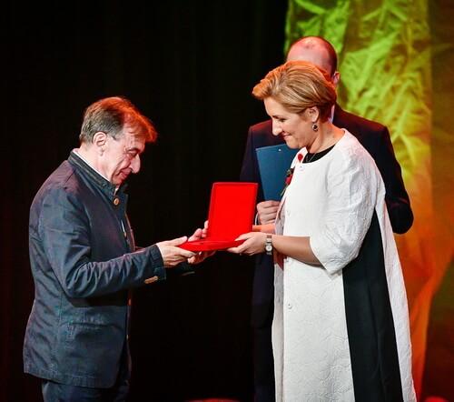 Liliana Țuroiu și Vasile Șirli la Gala-Celebritățtilor Foto Dumitru Dragoș