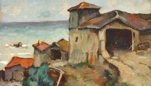 "Adam Bălțatu (1889–1979), ""Case la Mangalia"""