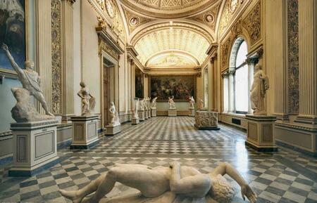 Galeriile Uffizi, Florența