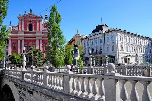 Liubliana, clădiri proiectate de Jože Plečnik