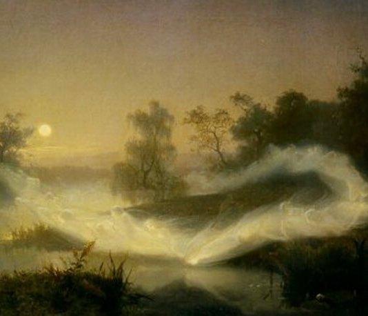 "Johan August Malmström, ""Dansul zânelor"", 1866"