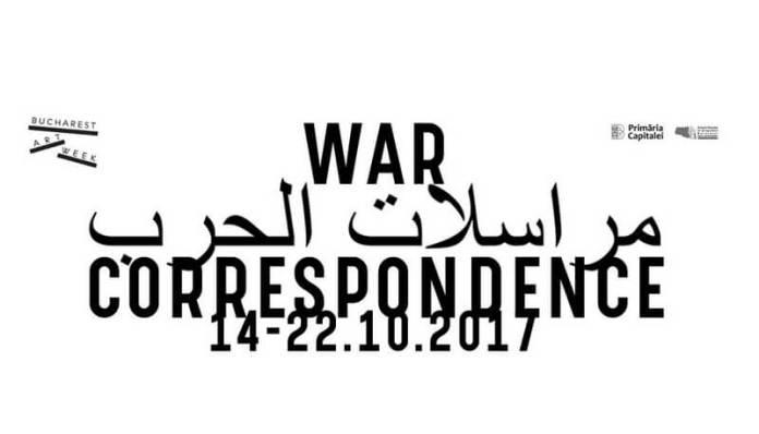 bucharest art week war correspondence
