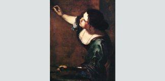 "Artemisia Gentileschi, Autoportret, ""Alegoria picturii"", 1638"