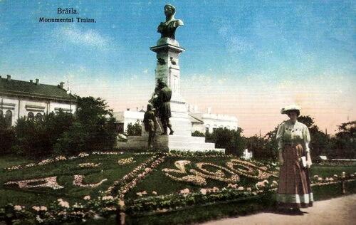 Brăila monumentul Traian
