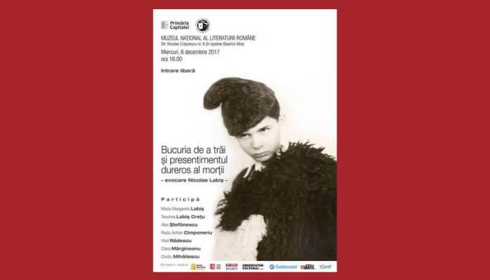 evocare nicolae labis muzeul literaturii romane bucuresti
