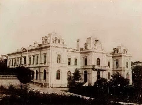 Palatul Administrativ (actualul sediu al Muzeului Judeţean Olt). Sursa foto Slatina de altădată