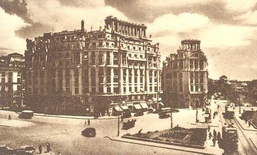 Piața Senatului din București