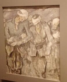 """Nicolae Tonitza, """"Drumul spre Turtucaia"""", 1916, Muzeul Național de Artă al României"""