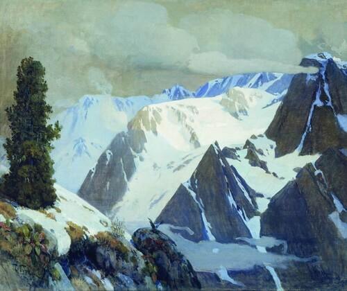 """""""Han Altay"""" de Türkolog Grigoriy Çoros Gurkin, 1907"""