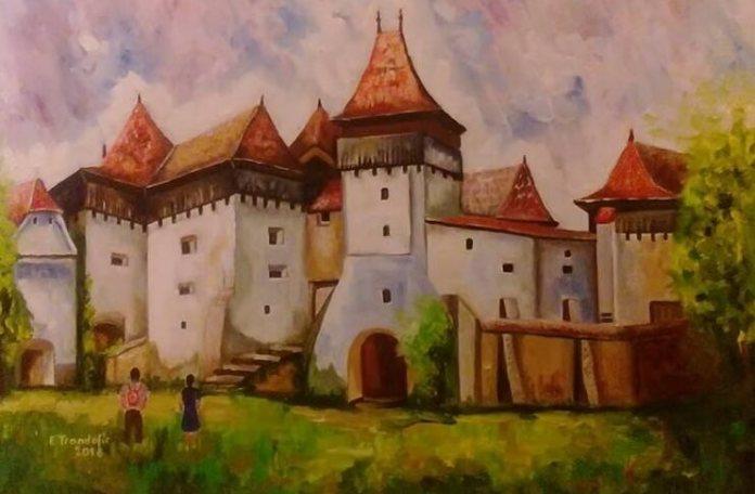 """Emilia Trandafir, """"Biserica Fortificată din Viscri, Brașov"""""""