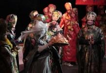 """Gheorghe Miletineanu Imagine din spectacolul """"Țarul Saltan"""" de Rimski-Korsakov, Opera Națională din Israel"""
