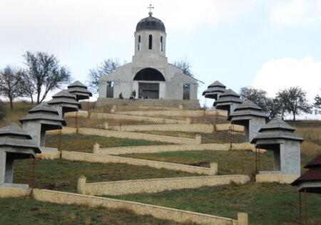 Mănăstirea Cerbu. Foto: Daniela Ungureanu
