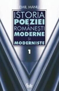 """emil manu """"Istoriapoeziei românești moderne și moderniste"""""""