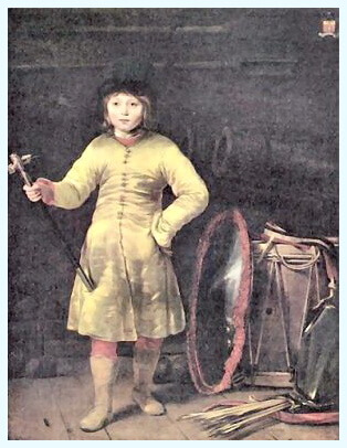 "Ferdinand Bol (24 iunie 1616–24 august 1680), pictor olandez, ""Portret de copil"", 1656"