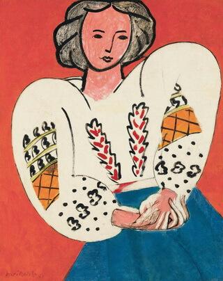 "Henri Matisse, ""La Blouse roumaine"""