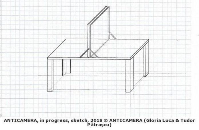 anticamera schita