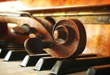 concert de orgă și vioară
