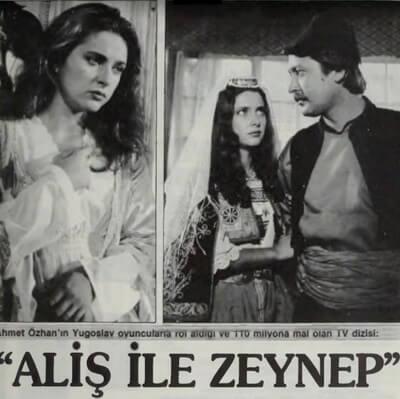 Aliș și Zeynep, afișul filmului