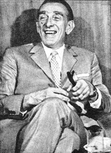 "Ion I. Cantacuzino. Foto revista ""Cinema"", nr. 8, 1975"