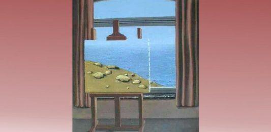 "René Magritte, ""Condiția umană"""