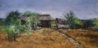 "Constantin Mihalachioaia, ""Peisaj rural"""
