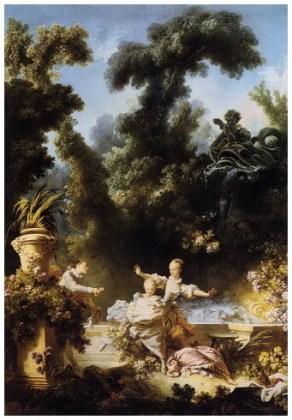 """""""Evoluția dragostei în inima unei fete – Urmărirea"""", 1773"""