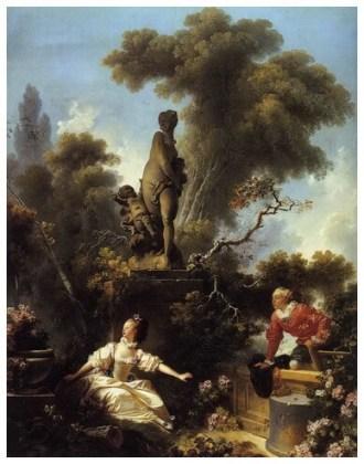 """""""Evoluția dragostei în inima unei fete – Întâlnirea"""", 1773"""
