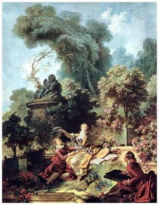 """""""Evoluția dragostei în inima unei fete – Îndrăgostitul încornorat"""", 1771 – 1773"""