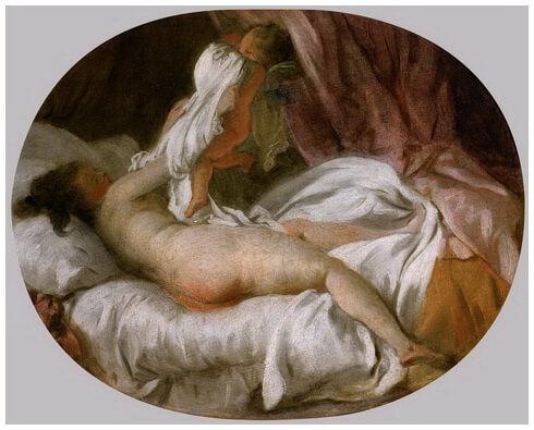 """""""Scoaterea cămășii"""", c. 1770"""
