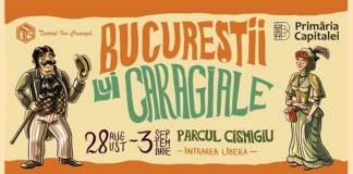 Bucurestii-lui-Caragiale festival 2018 cismigiu