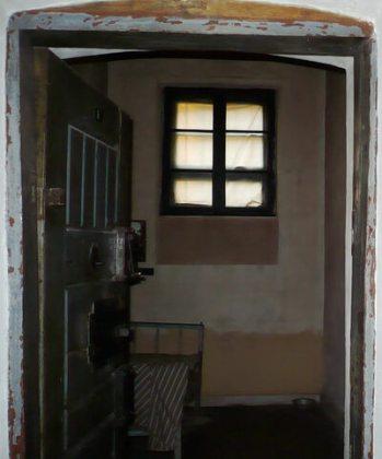 Celula în care a murit Iuliu Maniu în închisoarea de la Sighet